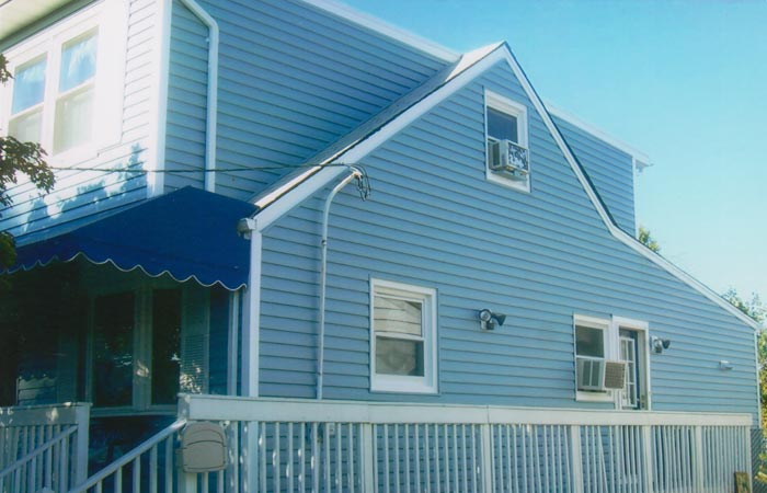 Replacement Vinyl Siding And Awning In Saddle Brook Nj
