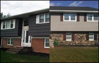 Vinyl Siding Replacement & Decorative Stone in Whippany, NJ