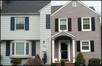 Vinyl Siding Replacement & Portocal Front Porch in Union, NJ