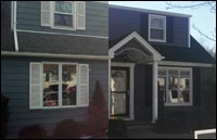 Vinyl Siding Replacement & Portocal Front Porch in Rockaway, NJ